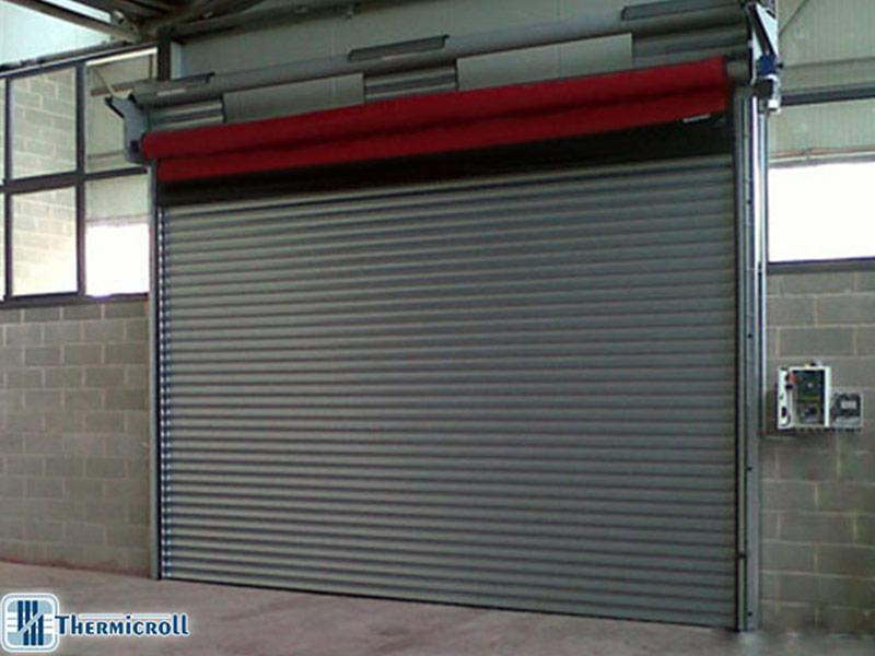 high speed industrial shutter door komby