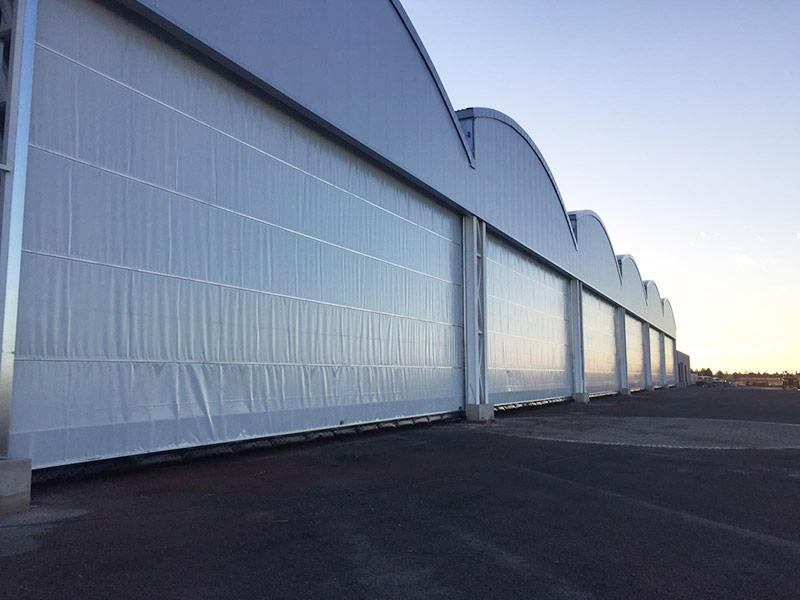 serrande industriali antivento