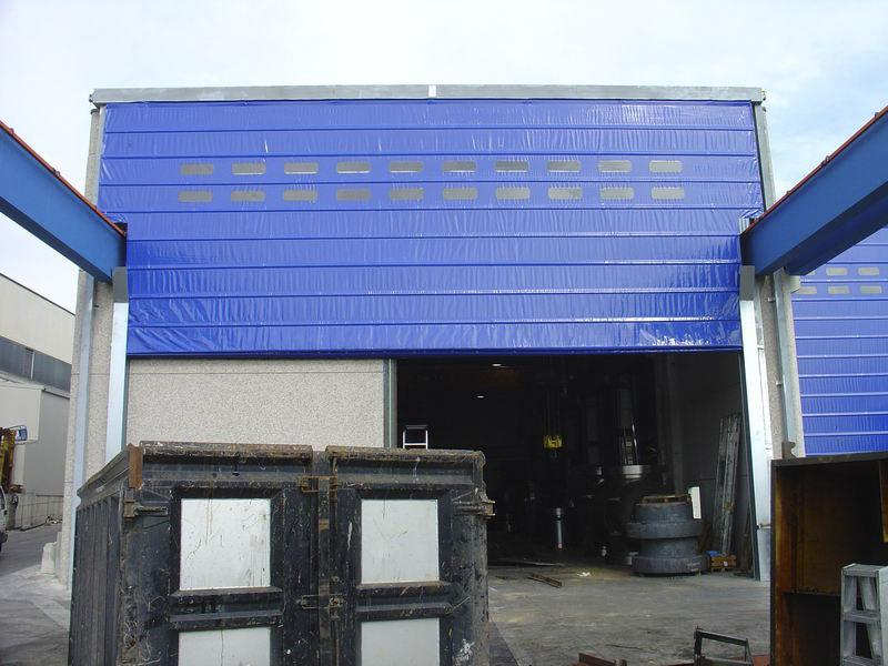 high speed overhead door