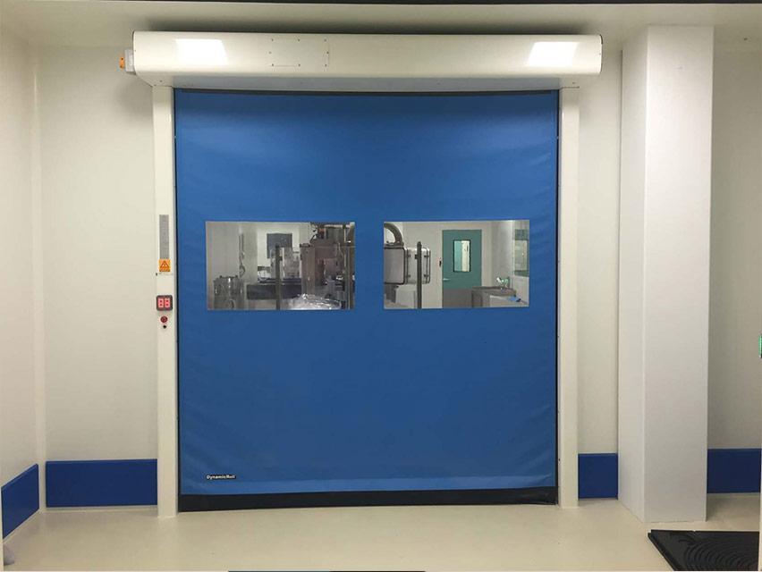 rapid door in pvc food pe for food industry