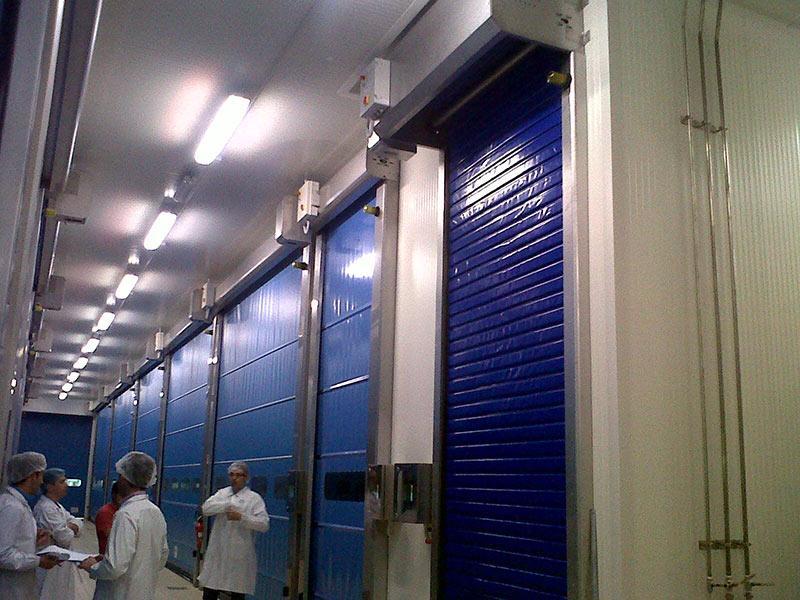 rapid doors for refrigeration frigo1