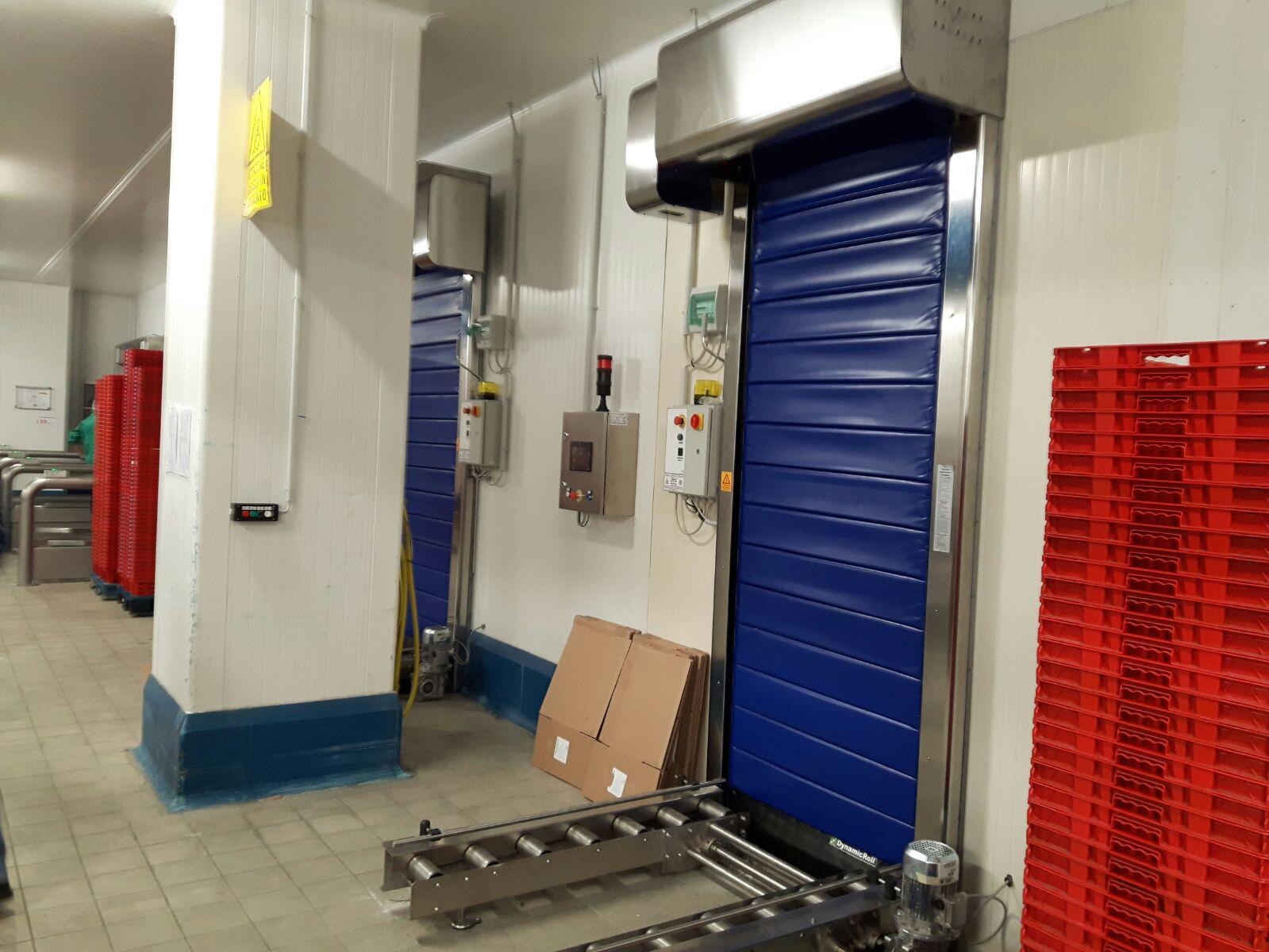 insulated high speed cold storage doors frigo1