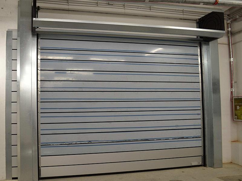 insulated industrial door spiral Iso40