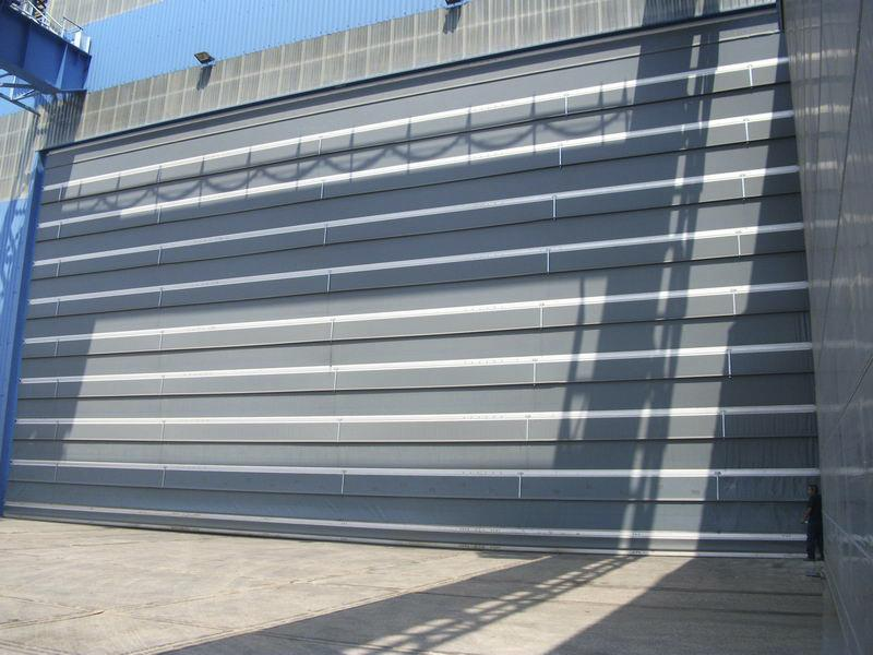 large size fold up high speed door