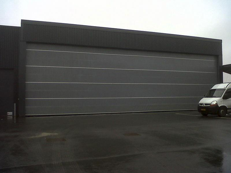 large size industrial door