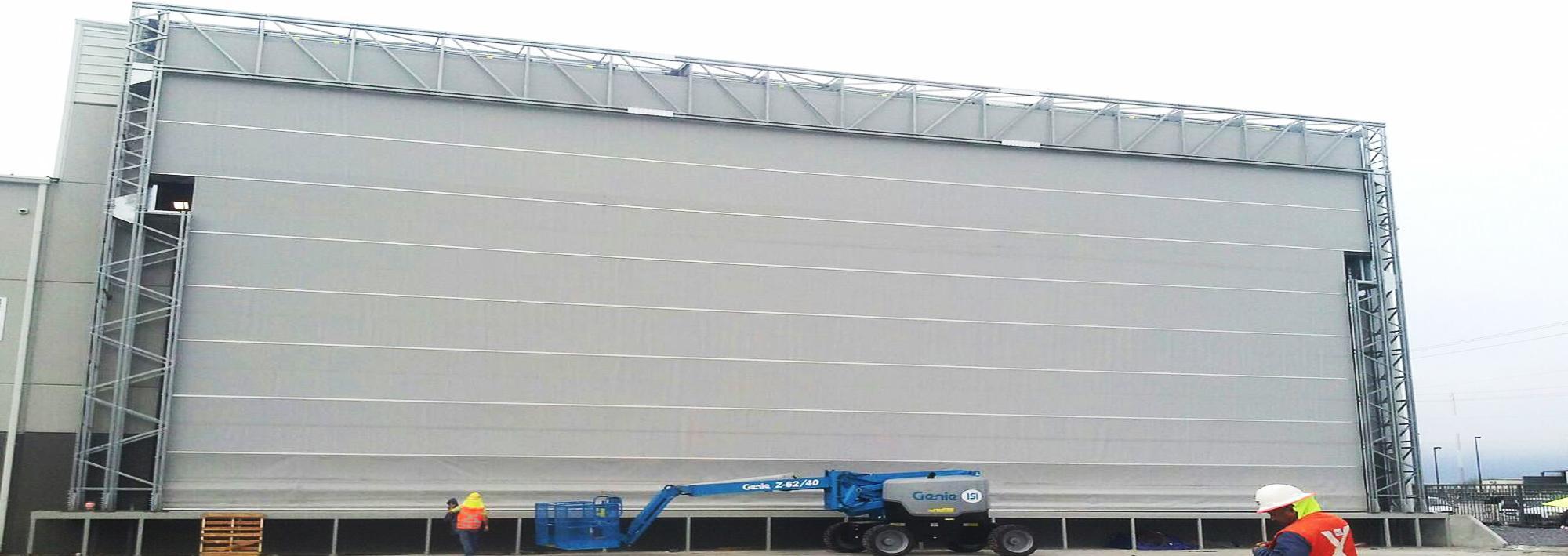 high speed folding door megapack