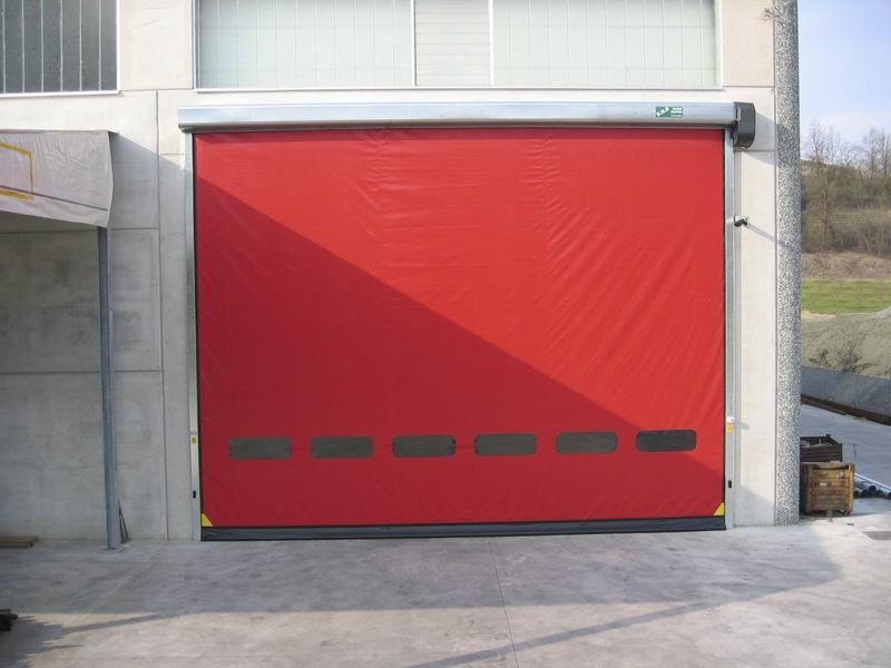 self-repairing high speed door dynamicroll