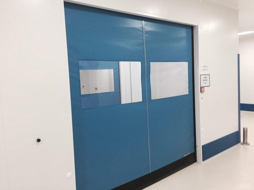 self repairing pvc door clean rooms
