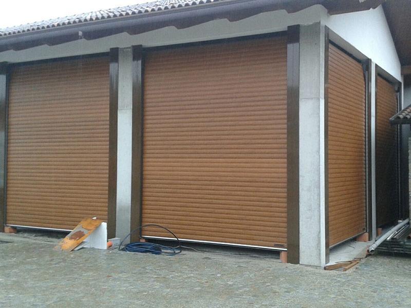 rolling shutter classic garage door