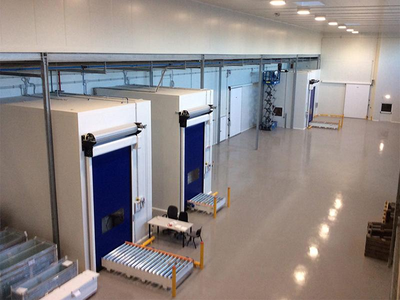 self-repairing high speed doors for cold storage Frigo1
