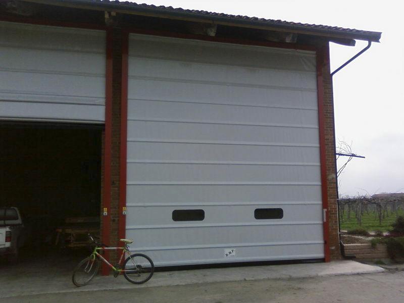 porte impacchettamento rapido per garage