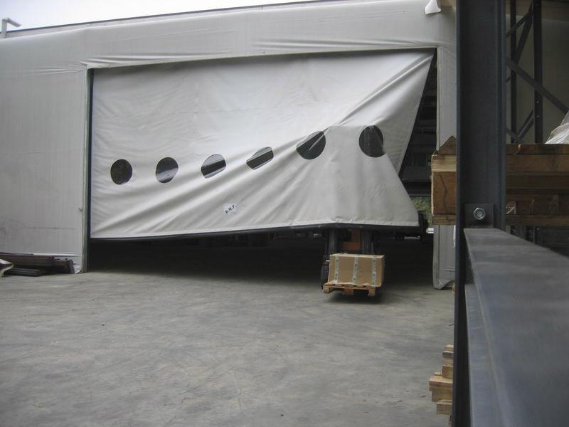 industrial self-repairing pvc industrial door dynamicroll