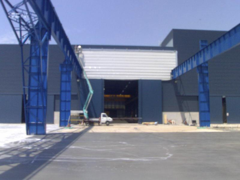 fold up pack crane door