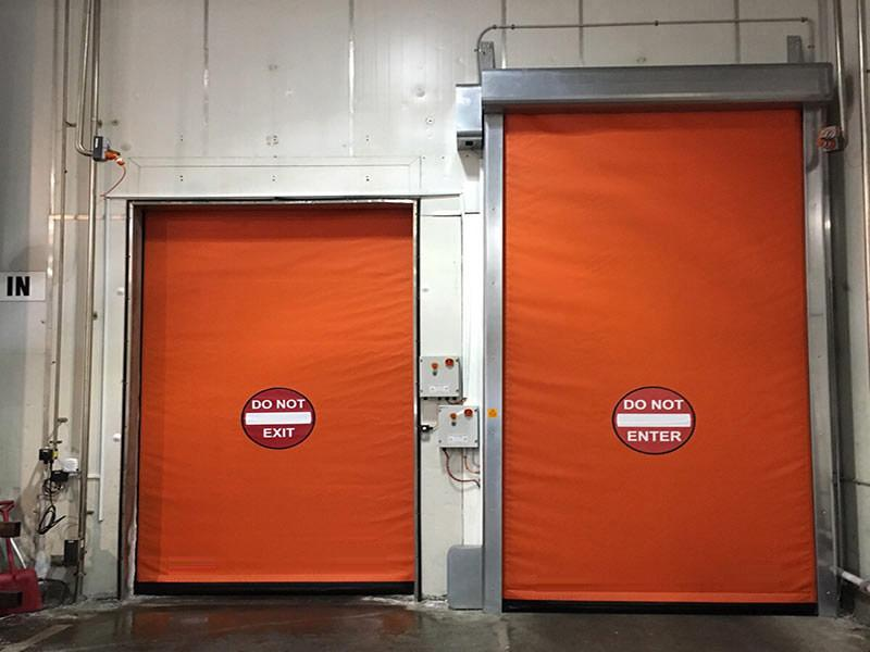insulated self-repairing high speed doors Frigo1