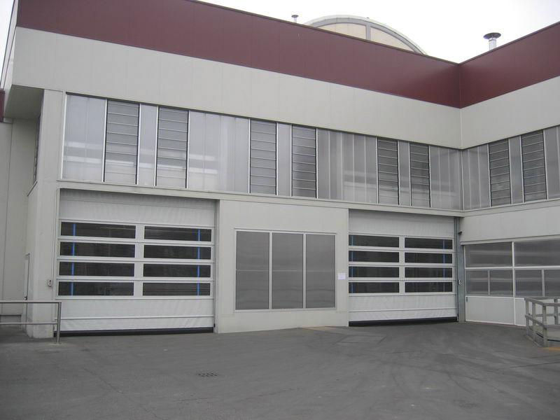 fold up pvc industrial doors pack industry