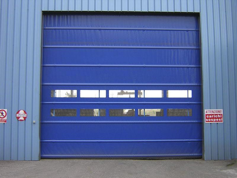 industrial fold up rapid door Pack Industry