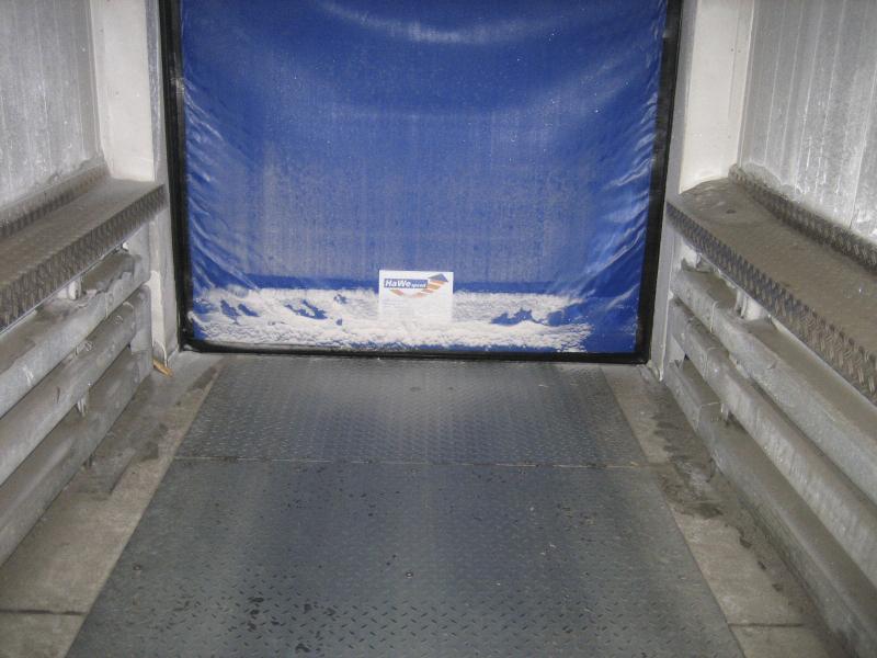 industrial insulated self-repairing door Frigo1