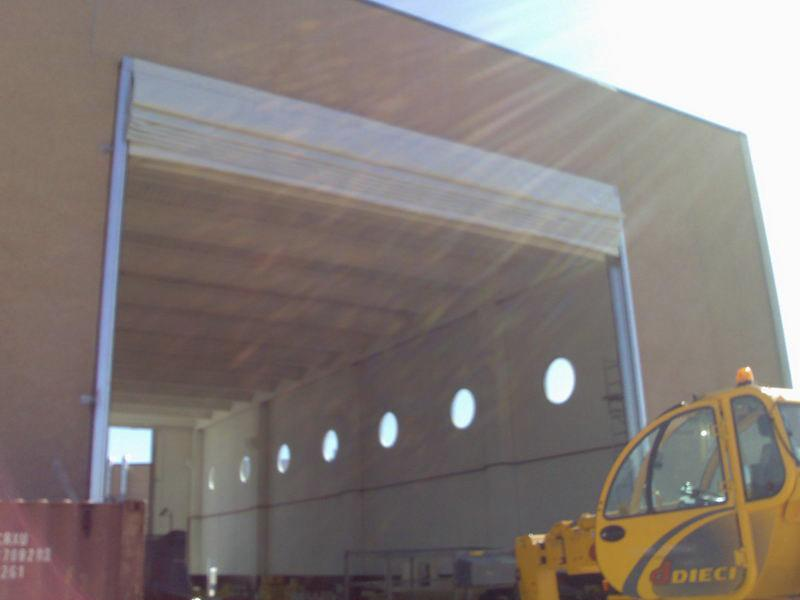 fold up high speed door megapack
