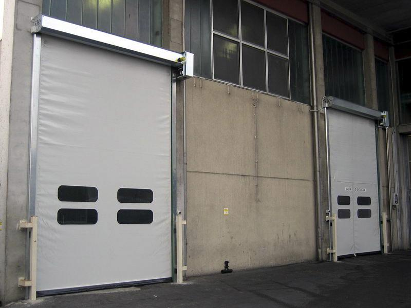 self-repairing pvc high speed doors dynamicroll industry