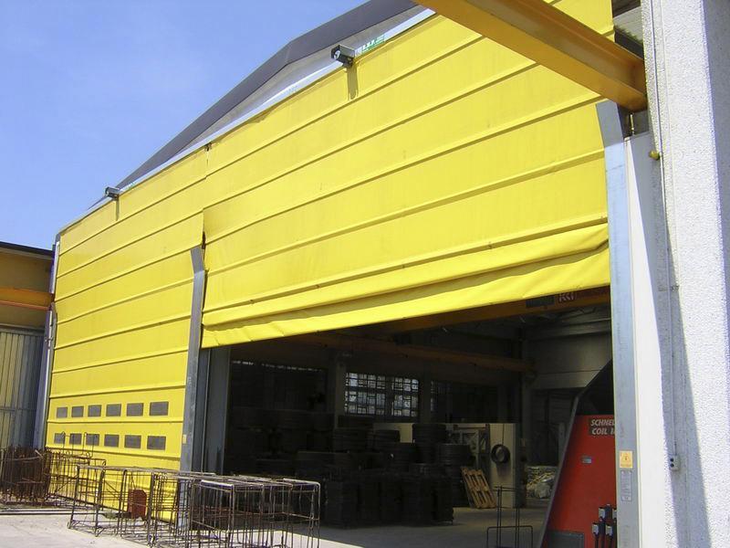 fold up crane doors