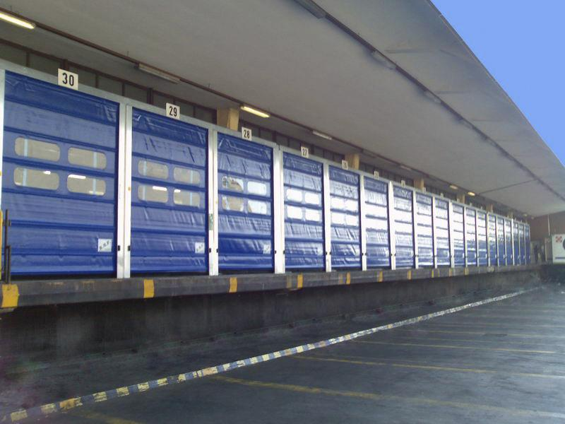 porte rapide ad impacchettamento per logistica