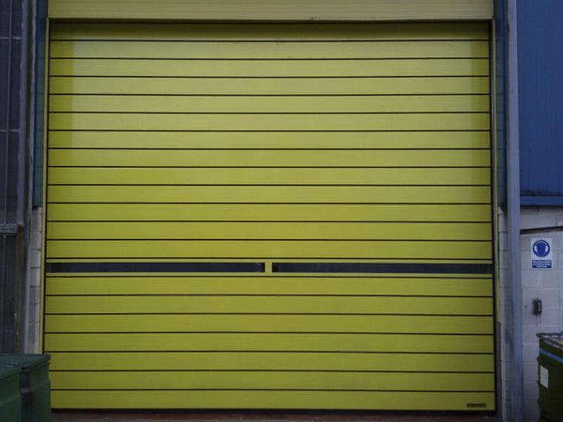 insulated high speed doors Spiral Iso40