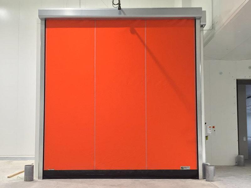porte rapide per refrigerazione autoriparanti