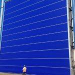 porta industriale ad impacchettamento grandi dimensioni
