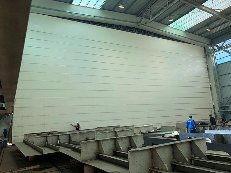 porta industriale ad impacchettamento megapack