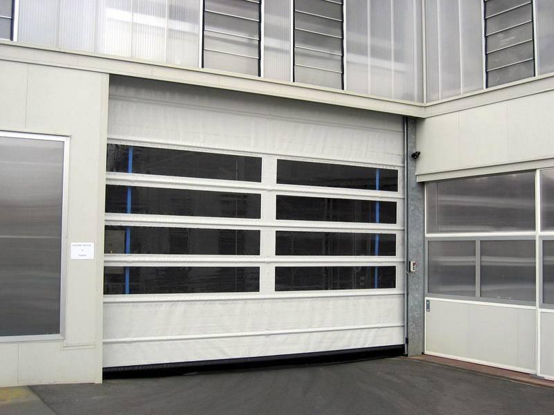 porta rapida avvolgibile per garage