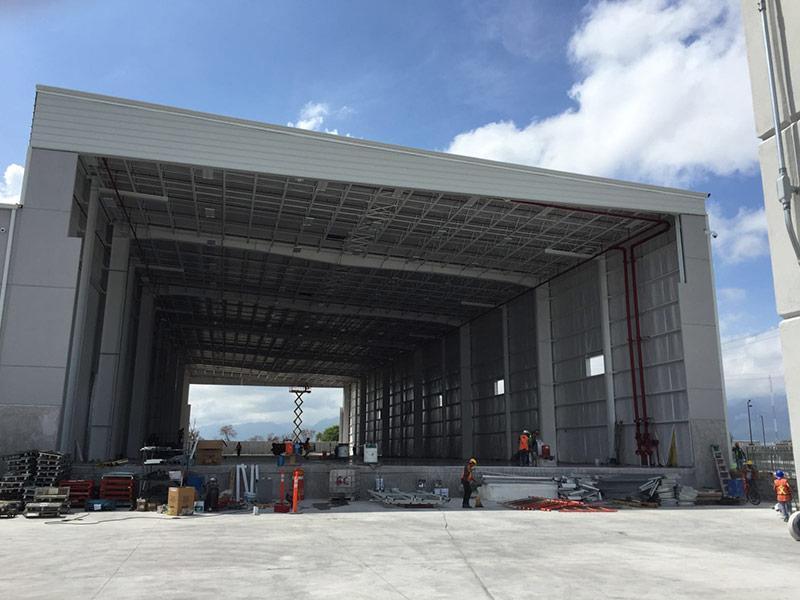 porta rapida industriale ad impacchettamento megapack