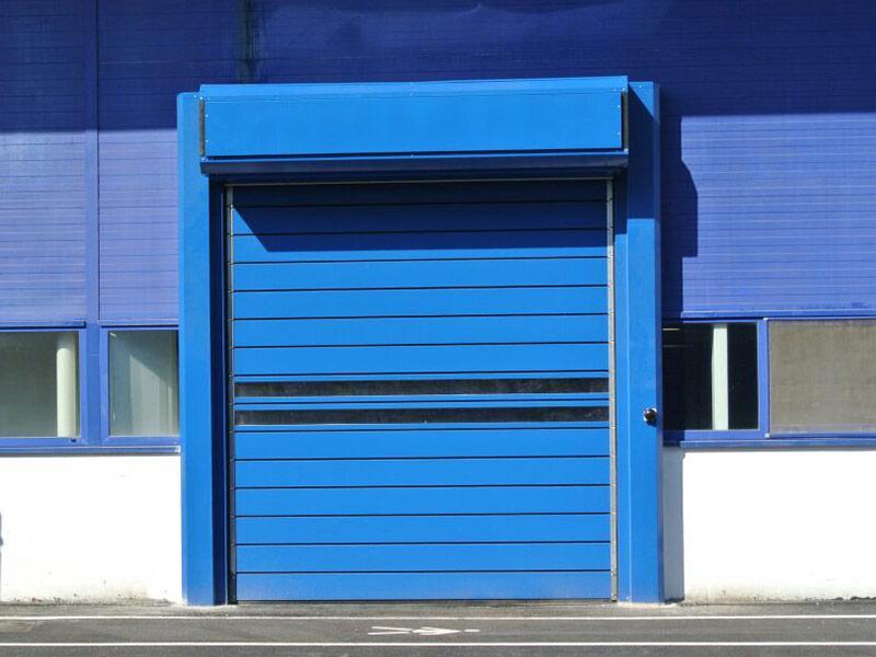 puerta enrollable aislante spiral iso40