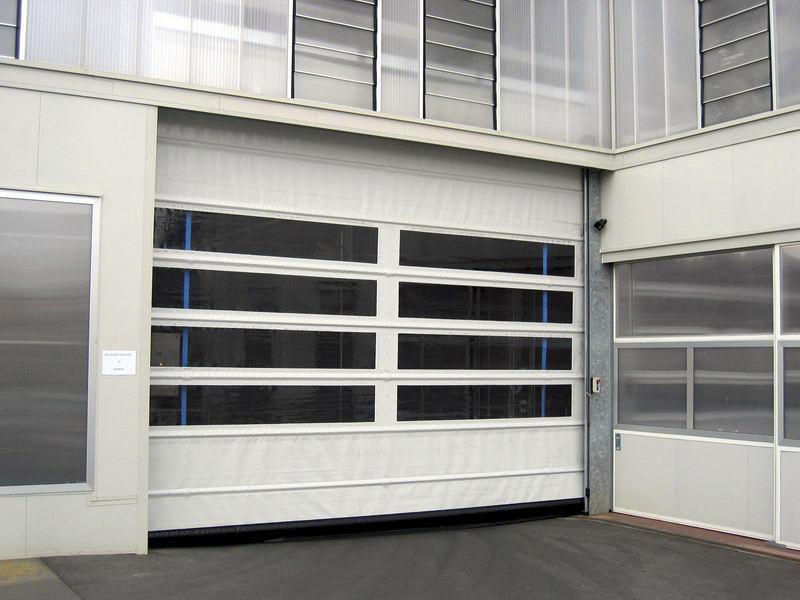 puerta rapida de garaje