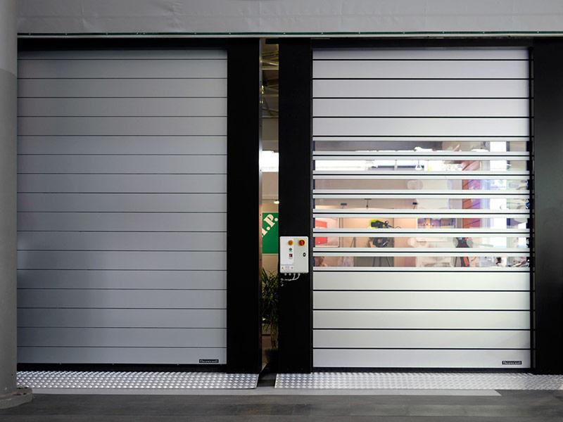 puertas enrollables aisladas spiral80