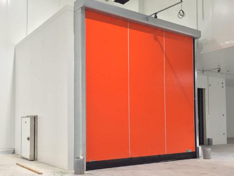 puertas enrollables de camaras de congelacion