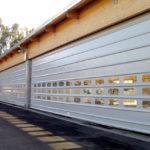 puertas plegables industriales de alta velocidad