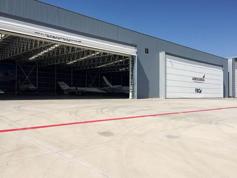 porte per hangar aeroportuali