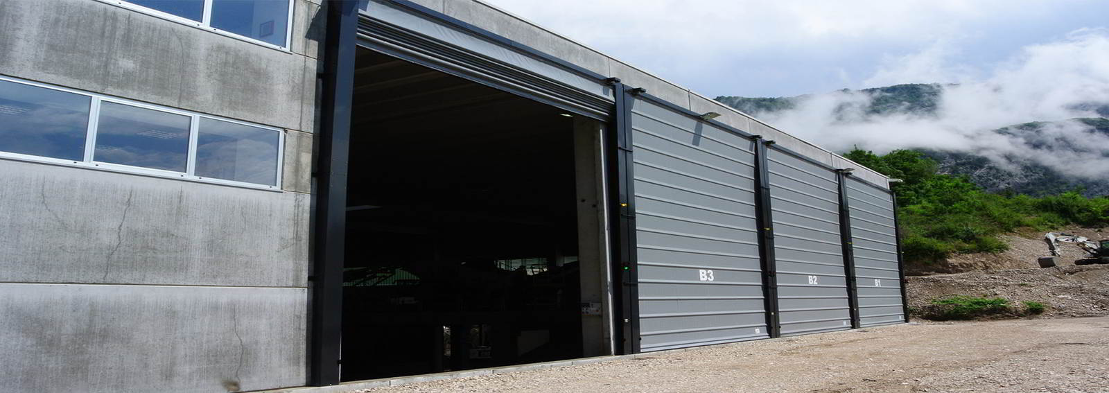 bmp high speed industrial doors